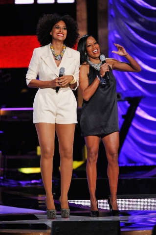 Tracee Ellis Ross and Regina King co-host Black Girls Rock! (Photo: Business Wire)