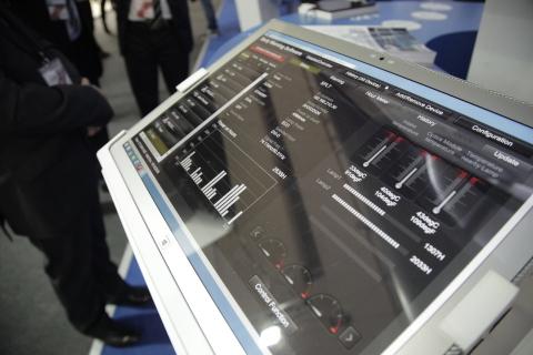 """远程投影仪和显示监控支持对松下视觉产品进行远程监控,这样可实现""""表演永远继续""""。(照片:美国商业资讯)"""