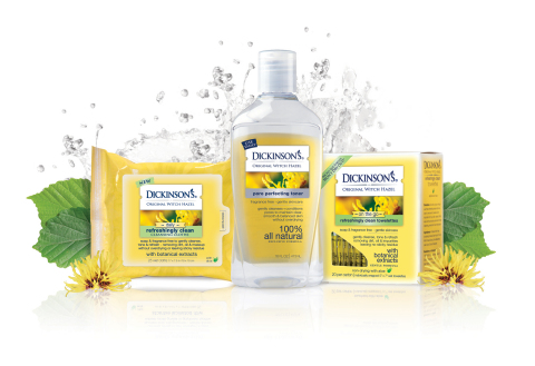 Dickinson's Original Witch Hazel Skin Care Products (Photo: Business Wire)