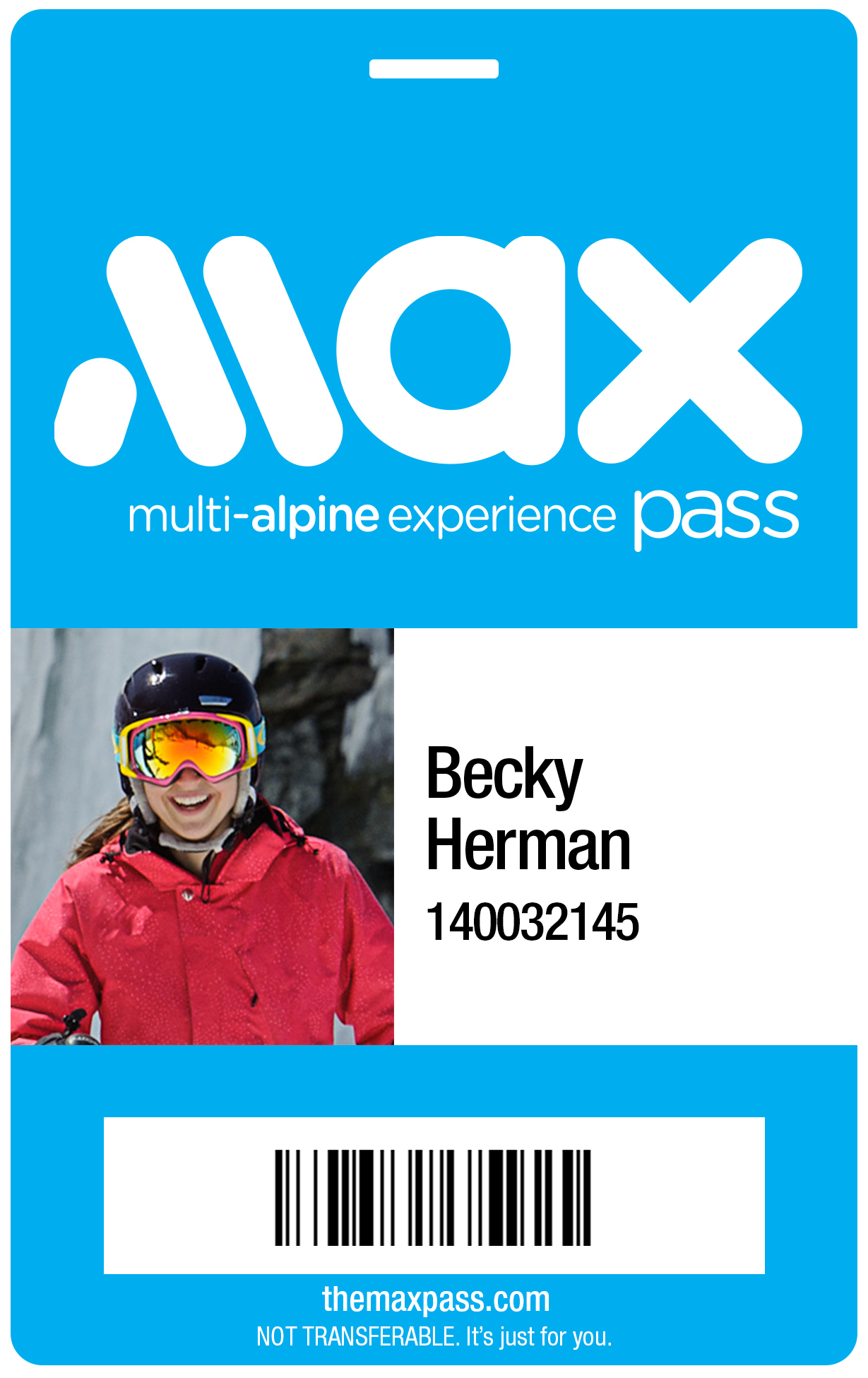 new m a x pass™ gives skiers and snowboarders access to an