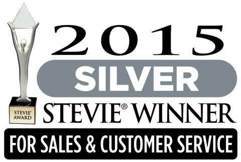 ShopKeep 2015 Silver Stevie Winner (Graphic: Business Wire)
