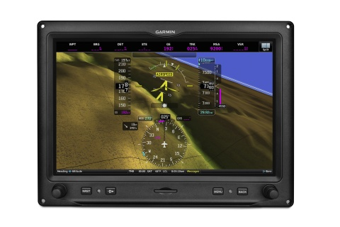 Garmin G3X Touch displaying ESP-X. (Photo: Business Wire)