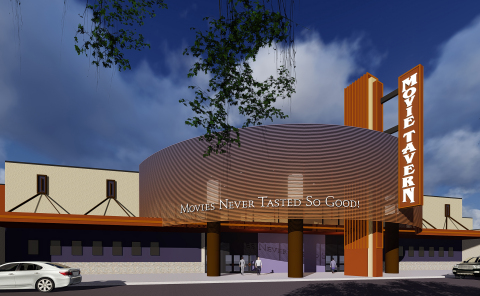 AmStar 14 at Brannon Crossing Becoming New Movie Tavern in Nicholasville, Kentucky (Graphic: Business Wire)