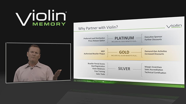 Jeff Nollette introduces the Flash Storage Platform to the channel.