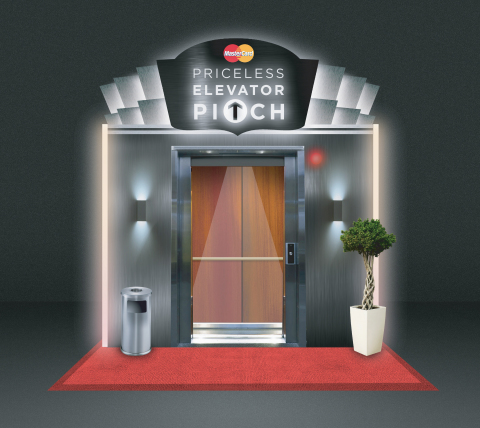 Calling all entrepreneurs! MasterCard's Priceless Elevator Pitch is taking place March 13-15 in the Mashable House located at 305 E. 5th Street, Austin, TX. (Graphic: Business Wire)