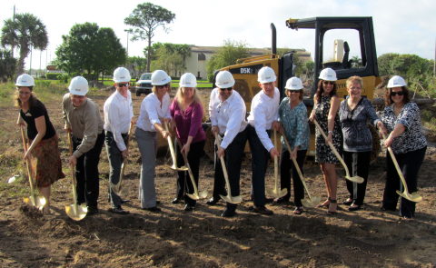 Watercrest Senior Living Group breaks ground on Pelican Landing Assisted Living and Memory Care Community in Sebastian, Florida. (Photo: Business Wire)