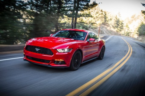 Red and black rank as the most popular exterior paint colors for the first global Mustang, according to initial consumer data. (Photo: Business Wire)