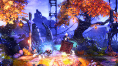 Trine Enchanted Edition is the origin story of the three unlikely heroes of Trine: Amadeus the Wizard, Pontius the Knight and Zoya the Thief. (Photo: Business Wire)