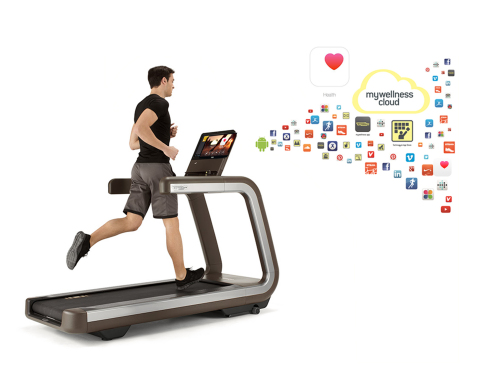 Technogym's Mywellness cloud now syncs with Apple's new health platform, HealthKit (Photo: Business Wire)