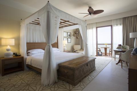 Park Hyatt Deluxe King guest room at Park Hyatt Zanzibar (Photo: Business Wire)