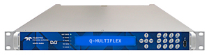 The new Q-MultiFlex(TM) modem from Teledyne Paradise Datacom delivers big hardware savings for point-to-multipoint networks. (Photo: Business Wire)