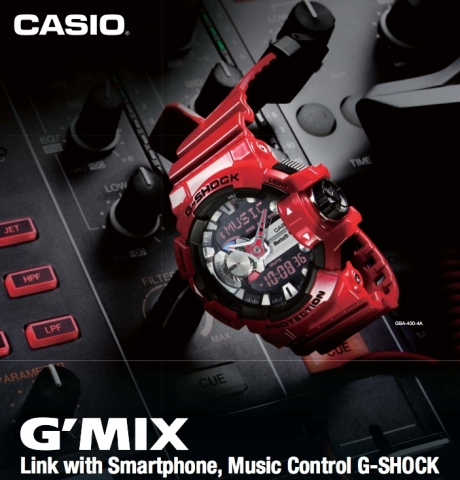 SoundHound's music recognition technology is currently integrated into the Casio G-SHOCK GBA-400 (Photo: Business Wire)