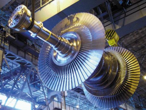 supercritical steam turbine (image) (Photo: Business Wire)