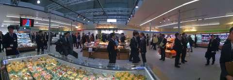 設在2015年超市貿易展內的松下展覽攤位(照片:美國商業資訊)