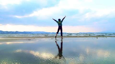 福岛县艺术体操剪影:追求最优雅的表演(照片:美国商业资讯)