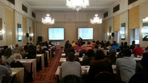 Building Wealth training seminar at the Bloomsbury Hotel, London, England, on March 13, 2015. (Photo: Business Wire)
