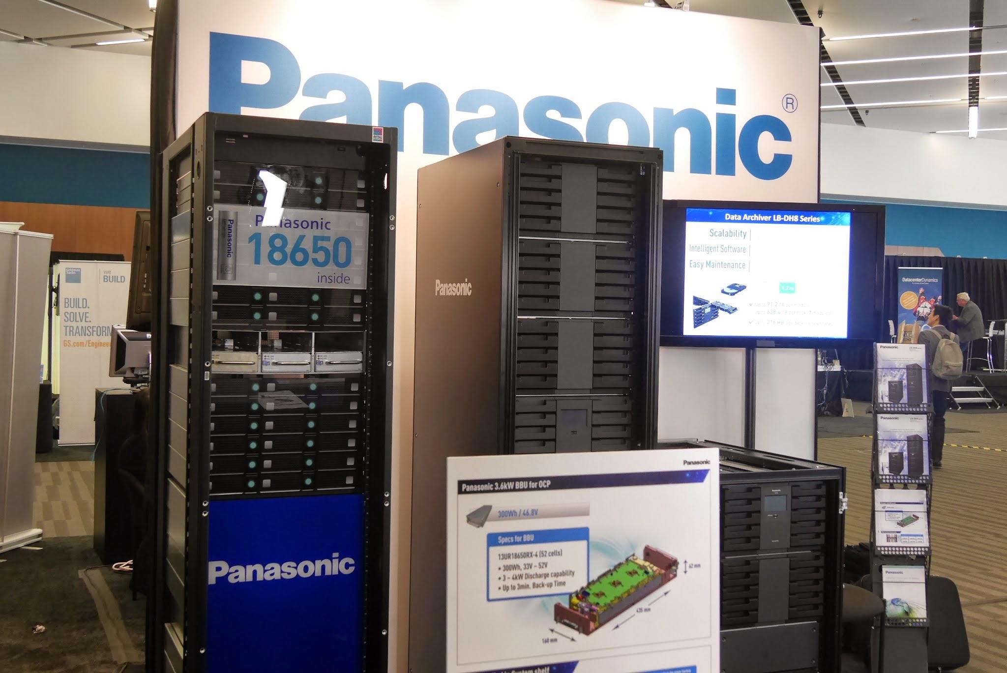 Panasonic Unveils Next Gen Data Storage and Battery Backup