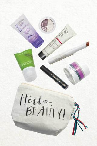 """A limited edition """"Hello, Beauty!"""" bag will be sold at Whole Foods Market stores on Saturday, March 21 for $18 as part of the retailer's first-ever """"Beauty Week."""" (Photo: Business Wire)"""