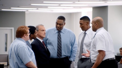 NBA greats Charles Barkley, Scottie Pippen and Rick Mahorn in CDW's newest