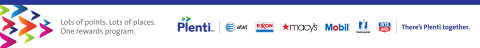 American Express, AT&T, ExxonMobil, Macy's, Nationwide, Rite Aid, Direct Energy and Hulu Launch Plenti - First Coalition Loyalty Program in US (Graphic: Business Wire)