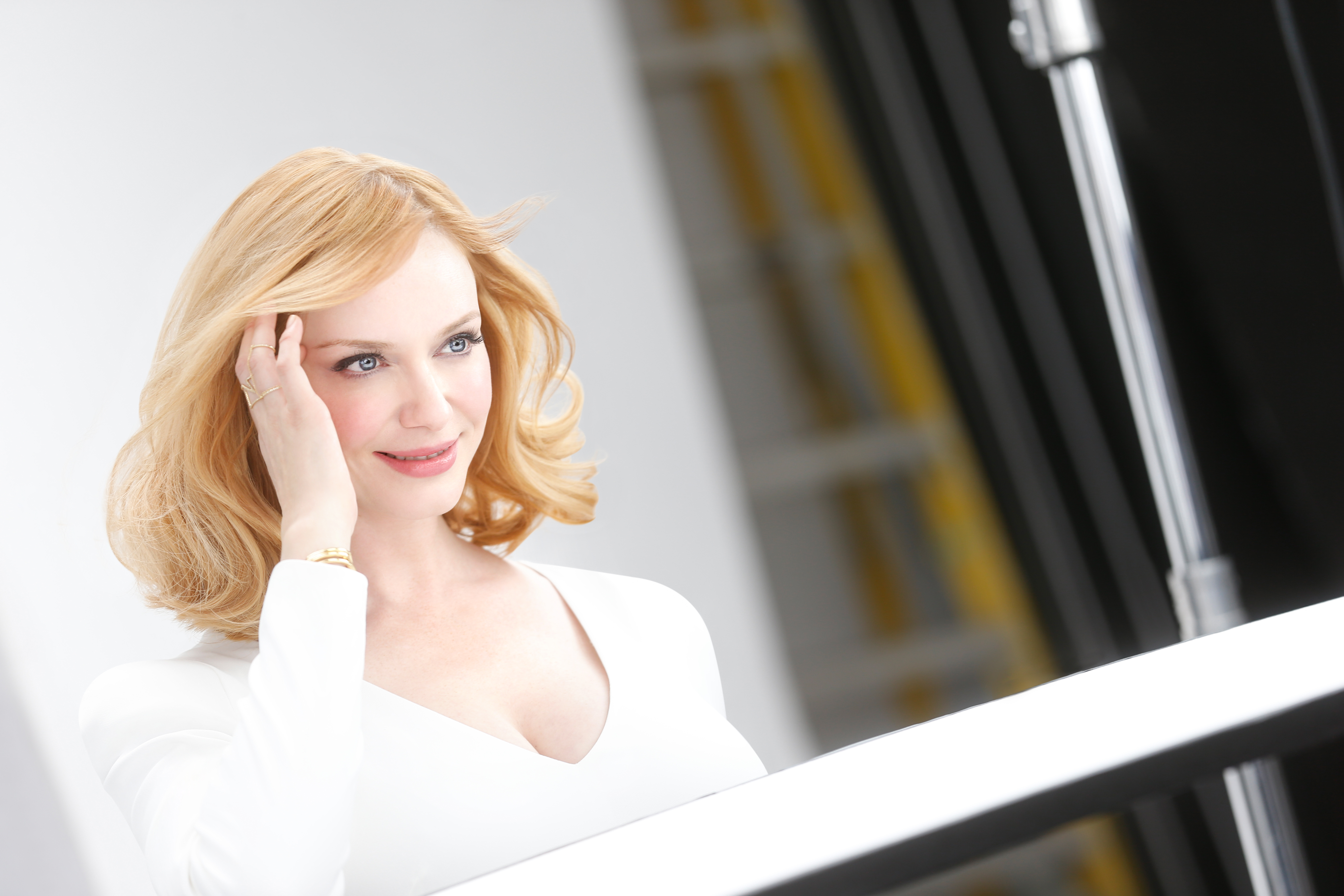 Christina Hendricks Shifts A Shade Blonder In Her Latest Role As