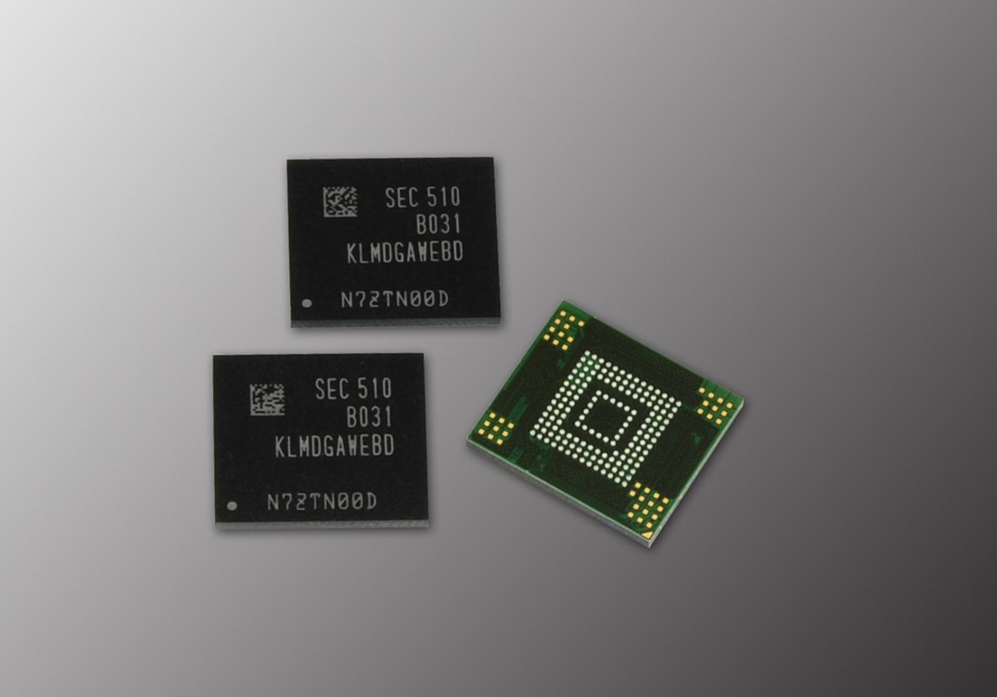 Samsung 128GB 3-bit eMMC 5.0 Mobile Storage for Mid-Market (Photo: Business Wire)