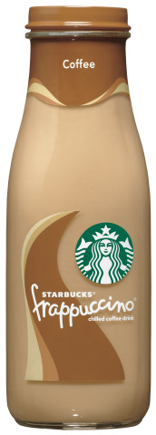 Starbucks® Bottled Coffee Frappuccino® Coffee Drink (Photo: Business Wire)