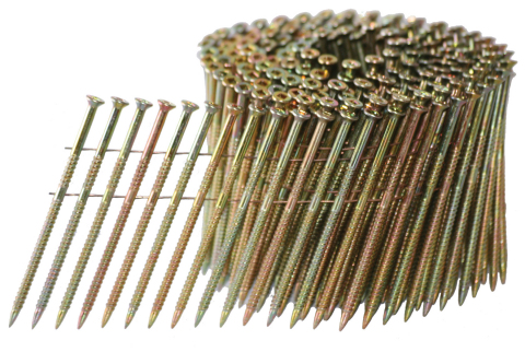 Wire Coil Collated UFO Ballistic NailScrews® (Photo: Business Wire)