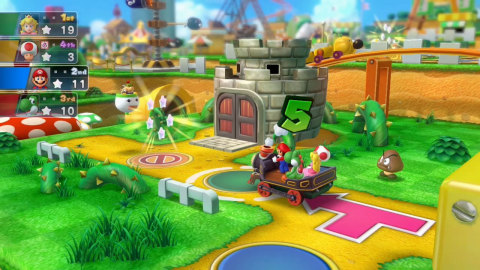 Crash the party as bad guy Bowser in Mario Party 10. (Photo: Business Wire)