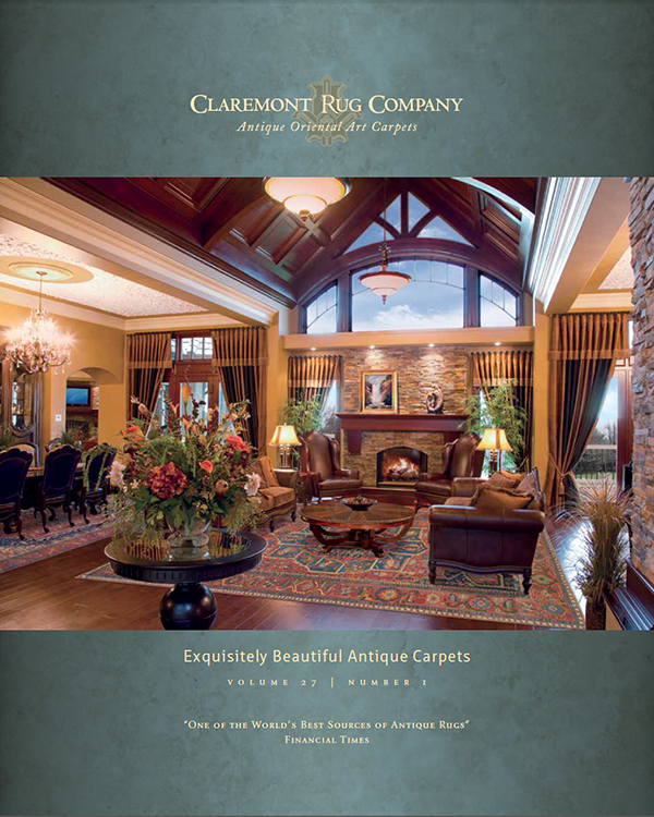 Claremont Rug Company Prints First 2015 Catalog Of Rarely Seen Antique  Oriental Rugs | Business Wire