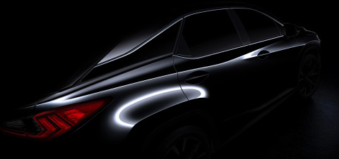All-New 2016 Lexus RX luxury utility vehicle to be unveiled at New York International Auto Show. (Ph ...