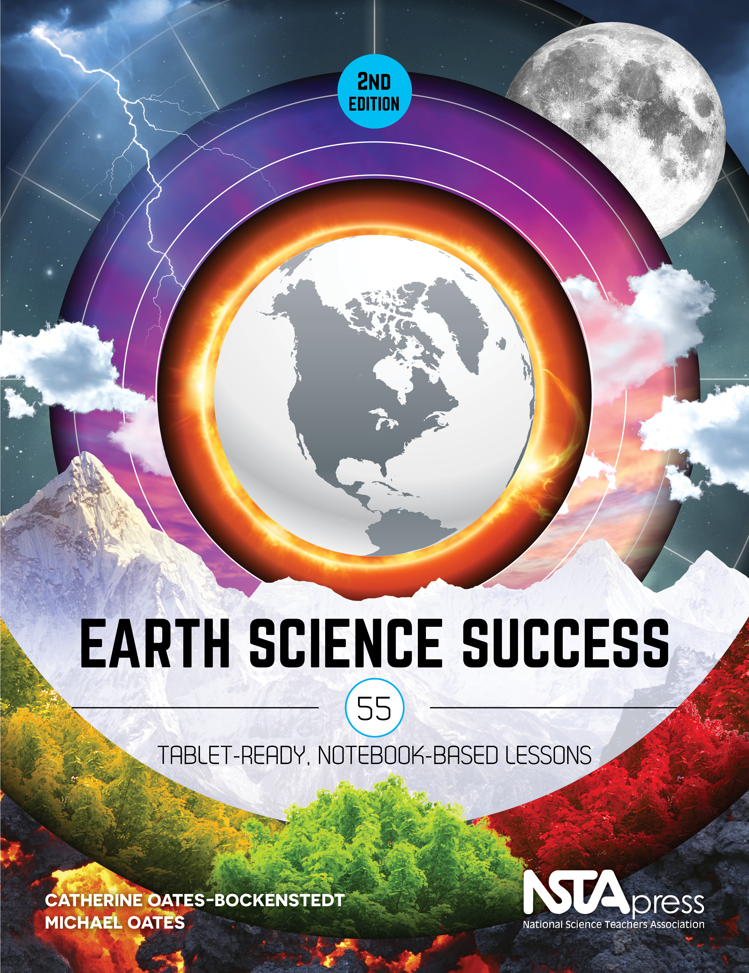 Science Book Cover : Nsta press gives earth science teachers a survival guide