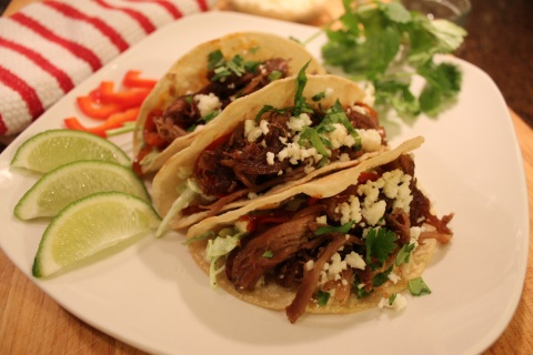 New pulled lamb is versatile for tacos, sliders, sandwiches and more. This Superior Farms product for chefs is pre-cooked and re-heats in the bag to maintain it's moisture and tenderness. (Photo: Business Wire)
