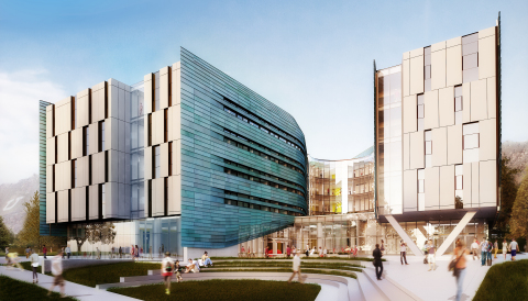 Students will live, create and launch in the $45 million Lassonde Studios building at the University of Utah starting fall 2016. Architectural rendering pictured. (Image courtesy Lassonde Entrepreneur Institute)