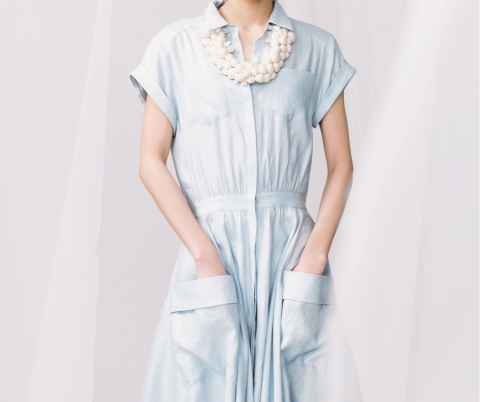 An example of majotae apparel: Keita Maruyama's dress (Photo: Business Wire)