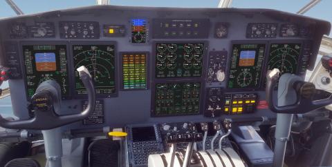 IS&S C-130 NextGen Flight Deck Installation (Photo: Business Wire)