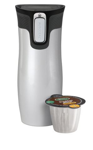 Keurig Coffee Maker Travel Mug Size : Keurig Makes Coffee To-Go Easier with Launch of K-Mug Pods