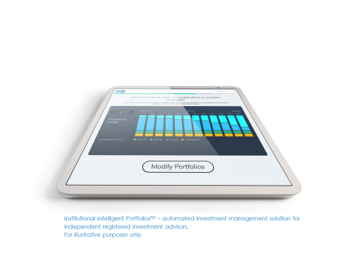 Institutional Intelligent Portfolios(TM) - automated investment management solution for independent registered investment advisors. For illustrative purposes only. (Photo: Business Wire)