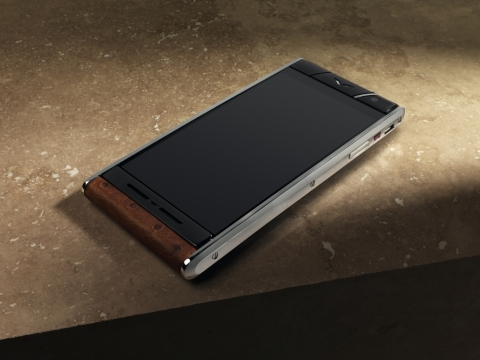 Vertu Aster Smartphone (Photo: Business Wire)