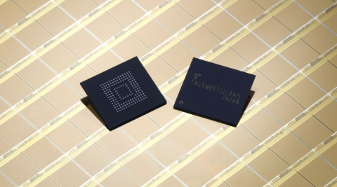 Toshiba: e∙MMC(TM) Version 5.1 Compliant embedded NAND Flash Memory (Photo: Business Wire)