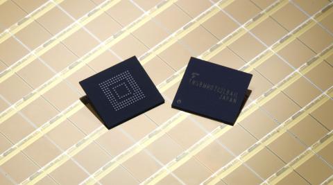 東芝:e・MMC(TM) Version 5.1に準拠した組込み式NAND型フラッシュメモリ(写真:ビジネスワイヤ)
