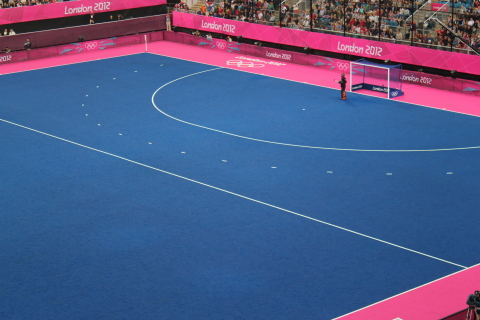 Building on the success of the London 2012 Olympic Games experience, Dow is working with Polytan STI to deliver a higher-performing, more reliable and faster artificial turf for the world's best hockey players during the Rio 2016 Olympic Games. (Photo: Business Wire)