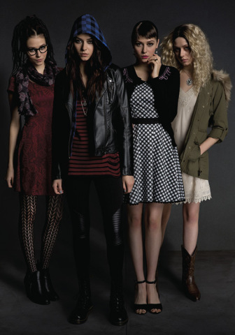 """Introducing a limited edition fashion collection inspired by the hit television series """"Orphan Black,"""" available exclusively at Hot Topic (Photo: Business Wire)"""