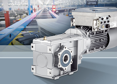 The new SINAMICS G110M motor-mounted drive for SIMOGEAR gear motors (Photo: Business Wire)