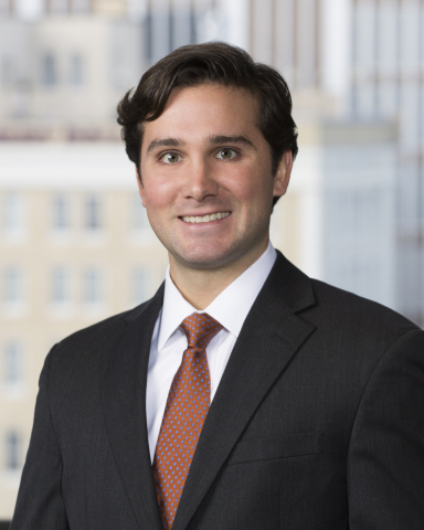 Dustin Alonzo has joined McGlinchey Stafford as an Associate in New Orleans handling consumer financial services compliance and litigation. (Photo: Business Wire)
