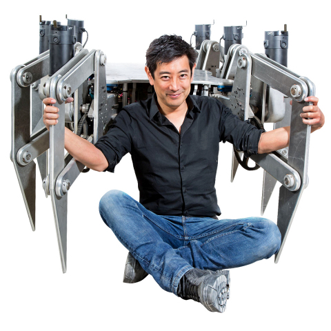 Mouser Electronics and Grant Imahara are calling on engineers to submit creative ideas for Grant's giant Spider-Bot. This newest Challenge is part of the exciting Empowering Innovation Together(TM) program where engineers can join in the technical discussions to explore new design ideas and solutions. Visit www.mouser.com/empoweringinnovation. (Photo: Business Wire)