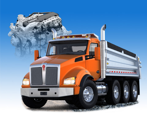 The Kenworth T880 Vocational Truck with the PACCAR MX-13 engine – named 2015 Commercial Truck of the ...