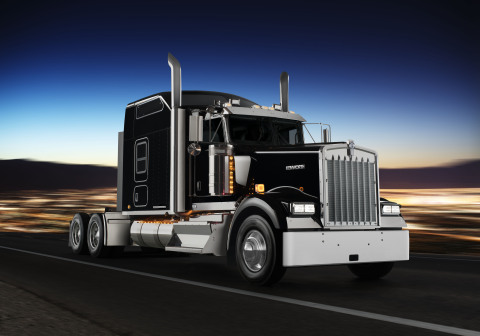 Kenworth is recognizing the heritage of the Kenworth W900L with a limited production Kenworth ICON 9 ...