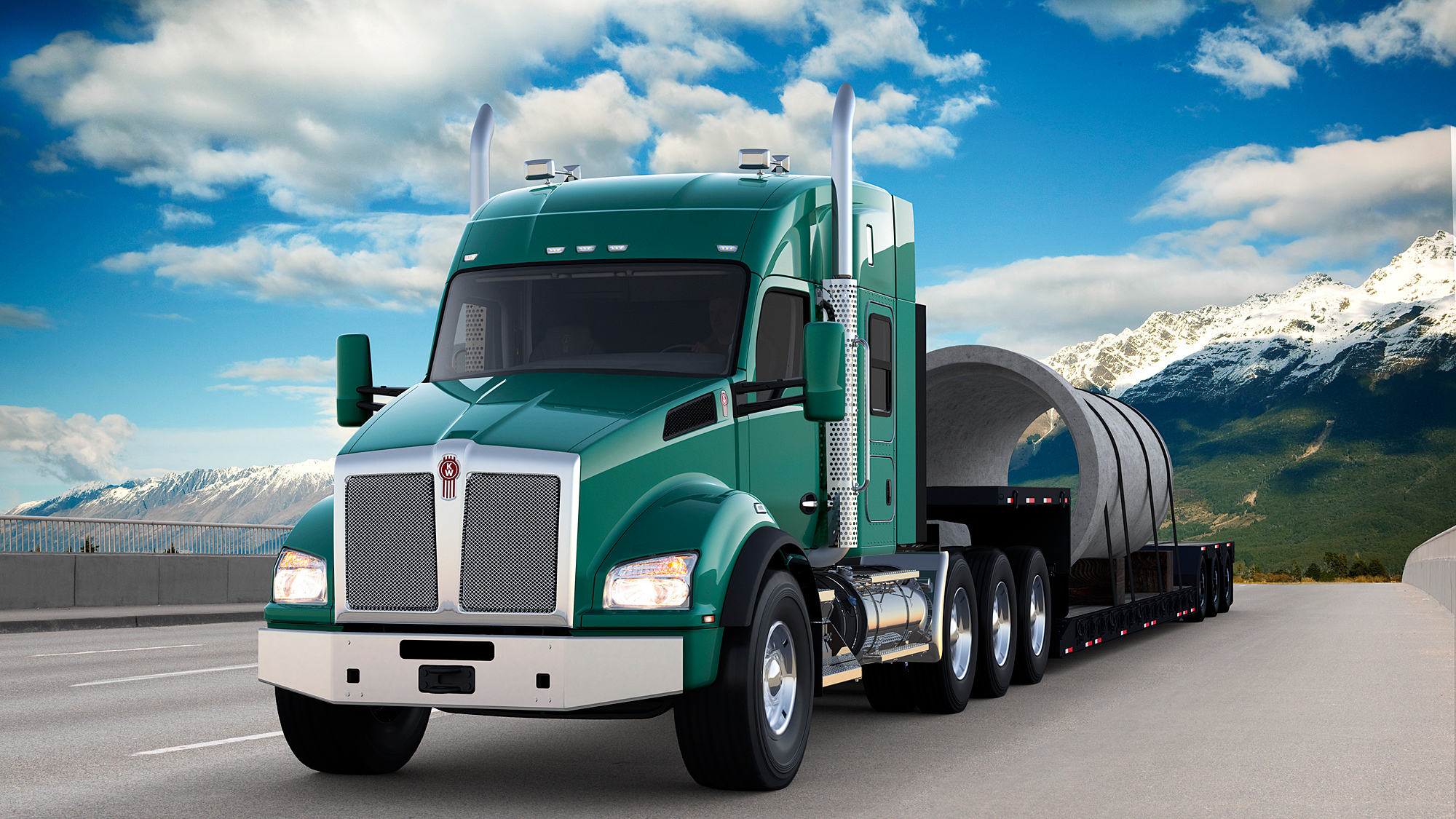 New Kenworth Driver Performance Technology Maximizes Fuel Economy Up To 30  Percent | Business Wire