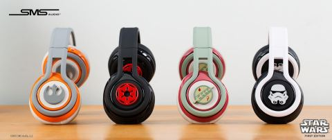 SMS Audio™ Star Wars™ First Edition Headphones (Photo: Business Wire)